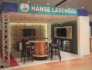 Messestand Hanse Ladenbau
